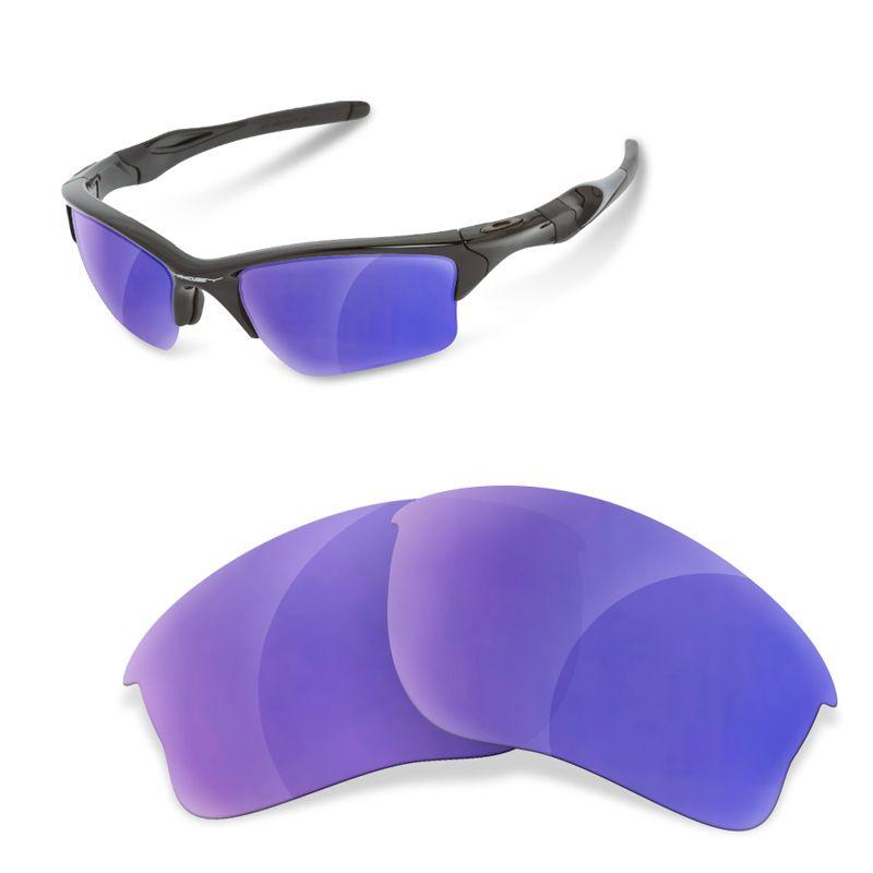 Polarisierte Erastzgläser Purple für Oakley Half Jacket 2.0 XL dcqmP8