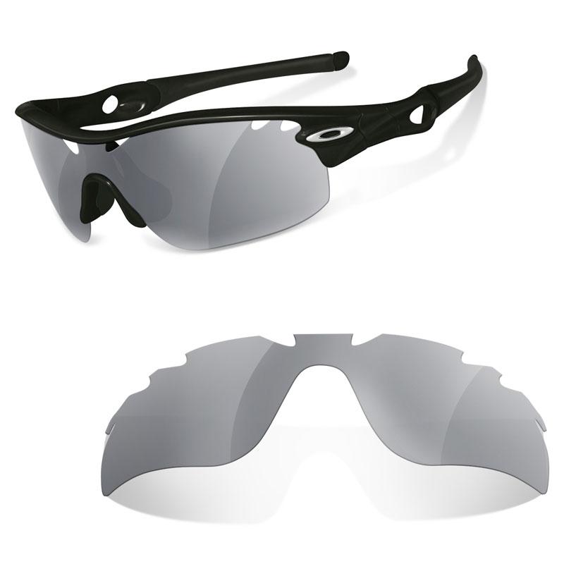 Ersatz-Brillengläßer für Oakley Radar Path Sonnenbrille, Green Mirror