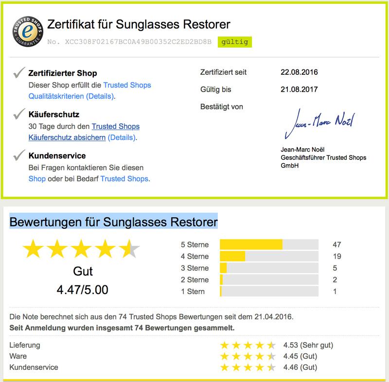 Bewertungen Sunglasses Restorer